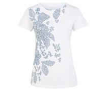 T-Shirts weiß / hellblau