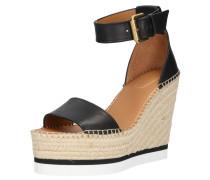 Sandale 'sb26152' beige / schwarz