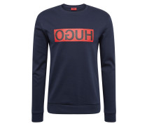 Sweatshirt 'Dicago' dunkelblau