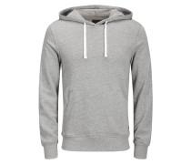 Sweatshirt Klassisches graumeliert / weiß