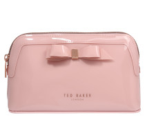 Kosmetiktasche 'bow makeup bag' rosa