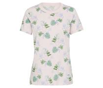 T-Shirt 'essentials Palm Print Tee'