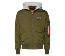 Jacken 'ma-1 TT Hood' dunkelgrün