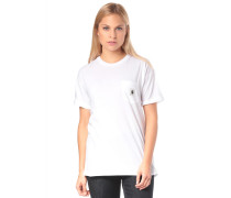 T-Shirt 'Carrie Pocket' weiß