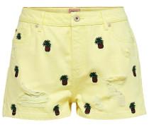 Shorts braun / gelb / grün