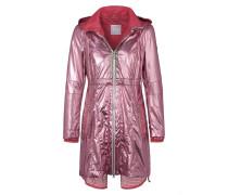 Jacke mit Kapuze pink