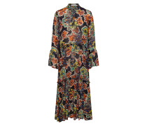 Kleid 'Florita' mischfarben / schwarz