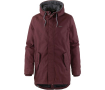 ' Mr Smith' Parka dunkelrot
