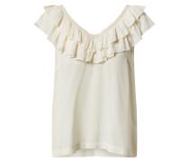 Shirt 'louisa' offwhite / beige