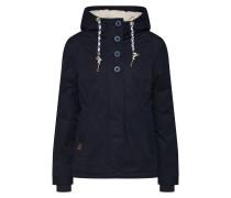 Jacken nachtblau / weiß