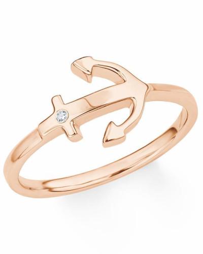 Fingerring 'Anker' gold