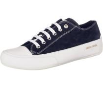 Sneakers Low kobaltblau / weiß