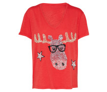 T-Shirt 'Elch' rot