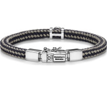 Armband grau / silber