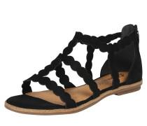 Sandale mit bogenförmigen Riemchen 'Cloud'