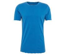 Basic-Shirt 'Marius' blau