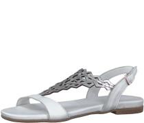 Sandale 'Mandala' silber
