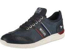 Sneakers Low blue denim / dunkelblau / rot