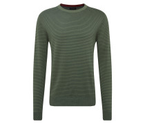 Pullover 'provi' navy / dunkelgrün
