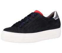 Sneaker navy / hellrot / weiß