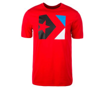 T-Shirt 'Star Chevron Box' rot