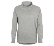 Sportsweatshirt mit Ziernähten grau