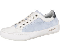 Sneakers Low hellblau / weiß