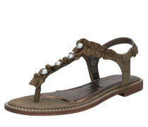 Sandale 'Inci' braun