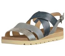 Sandalen marine / taubenblau