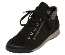 Sneaker High 'Rom' schwarz / silber