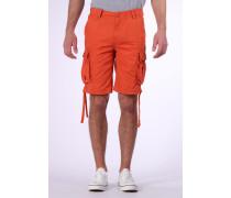 Shorts 'Korge' dunkelorange