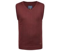 V-Ausschnitt-Pullover 'Larsson' rot