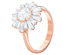 Ring 'Sunshine' rosegold / weiß