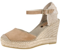 Sandale beige / champagner