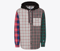 Hemd 'lewis Hamilton Plaid Hoody Shirt'