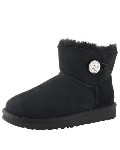 Boots mit Swarovski-Stein 'Mini Bailey Button Bling'