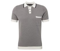 Poloshirt 'dukan' anthrazit / weiß