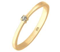 Ring 'Solitär' gold