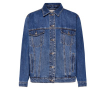 Oversize Jeansjacke blue denim