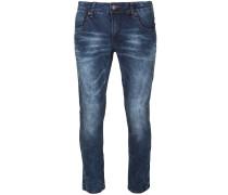 Jeans mit hellen Effekten