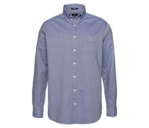 Hemd 'The Oxford Shirt BD' taubenblau