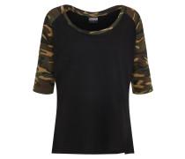 Shirt grün / schwarz