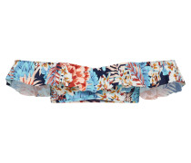 'Tahiti' Bandeau herausnehmbare Pads blau