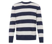 Pullover navy / graumeliert