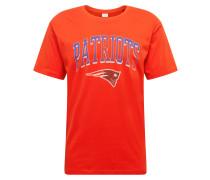 T-Shirt mischfarben / rot