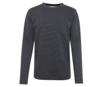 Sweater 'trail' navy / schwarz