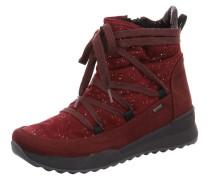Stiefel rubinrot