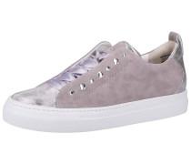 Sneaker greige / silber / weiß