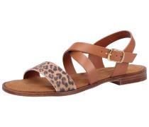 Sandalen dunkelbeige / braun