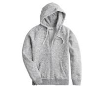 Kapuzensweater grau